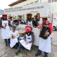 Faschingsumzug Musikkapelle Grins 2018