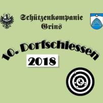 10. Dorfschießen 2018