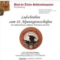 Alpenregionsschießen 2019