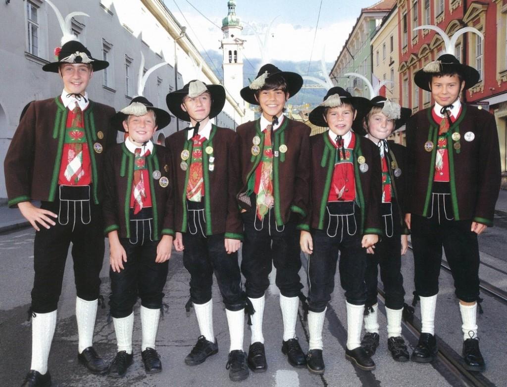 Jungschützen beim Landesfestumzug 2009 in Innsbruck